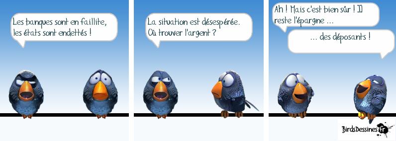 Les Birds à la BCE